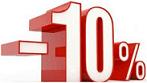 10% korting op inbraakverzekering met alarmsysteem in huis