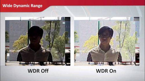 Beste Wide dynamic range voor bewakingscamera
